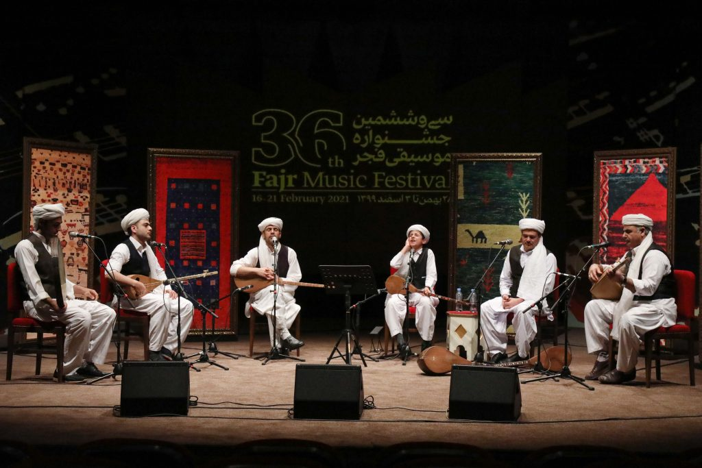 Pictorial report of Fajr Music Festival's seventh day