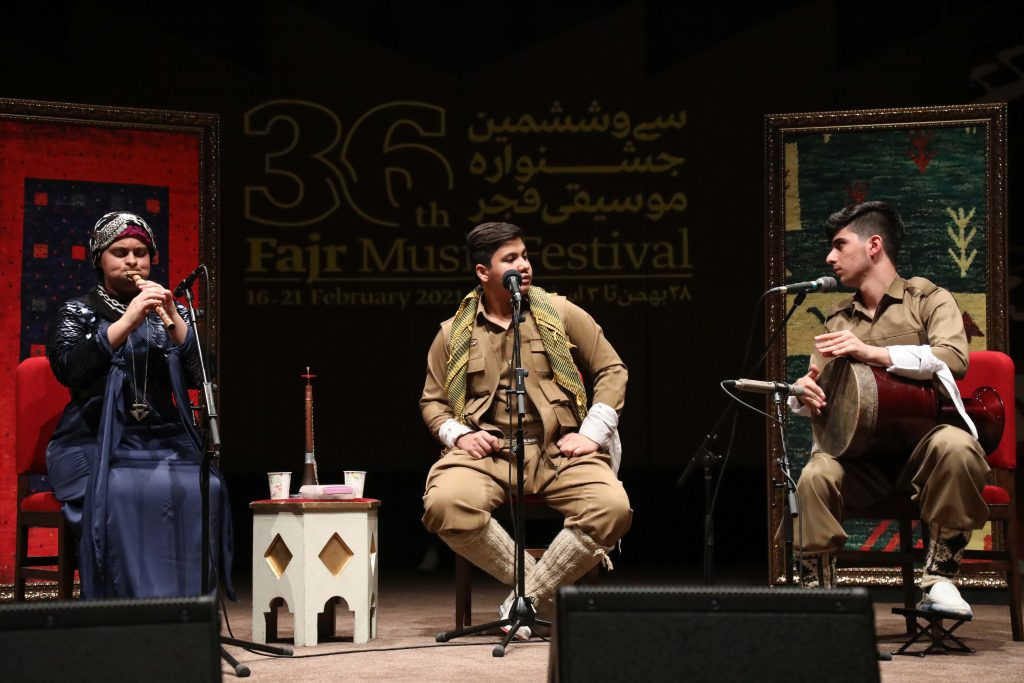 Pictorial report of Fajr Music Festival's sixth day
