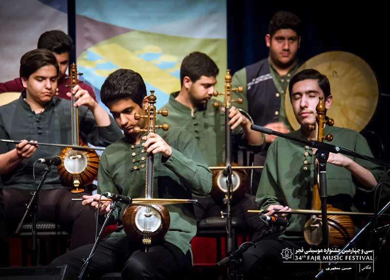 اجرای آثاری از حسین علیزاده و ویوالدی در فرهنگسرای نیاوران