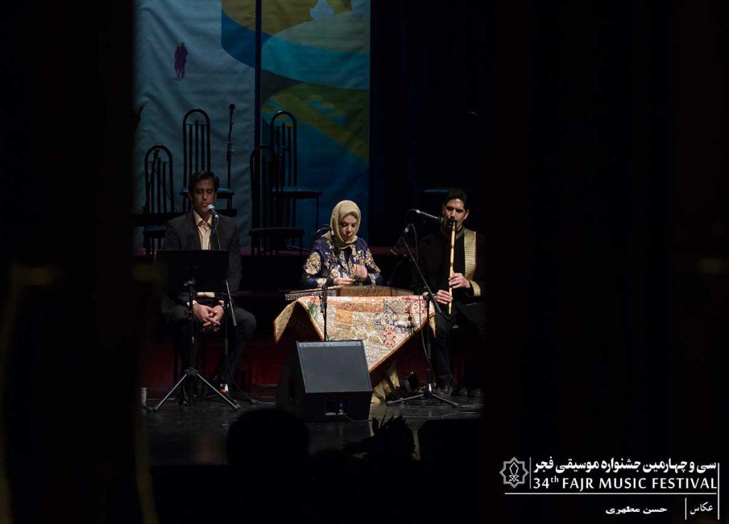 گزارش تصویری کنسرت گلبانگ بهناز ذاکری – علیرضا وکیلی منش در فرهنگسرای نیاوران