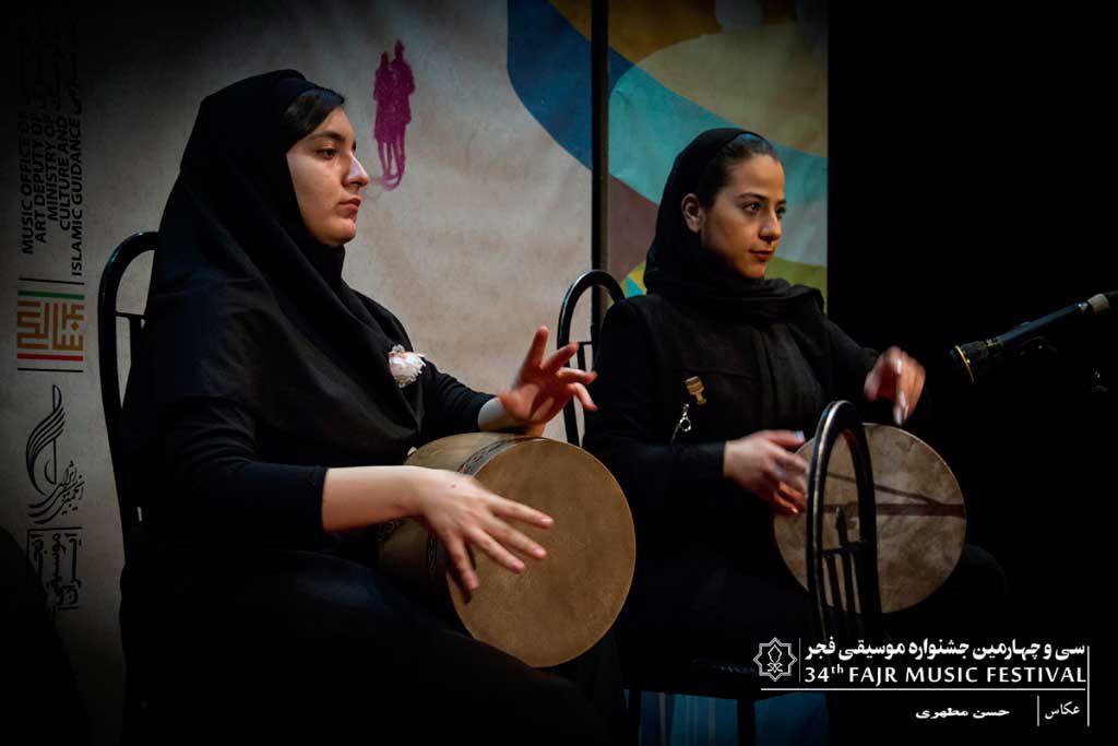 اجرای هنرستان موسیقی دختران در فرهنگسرای نیاوران