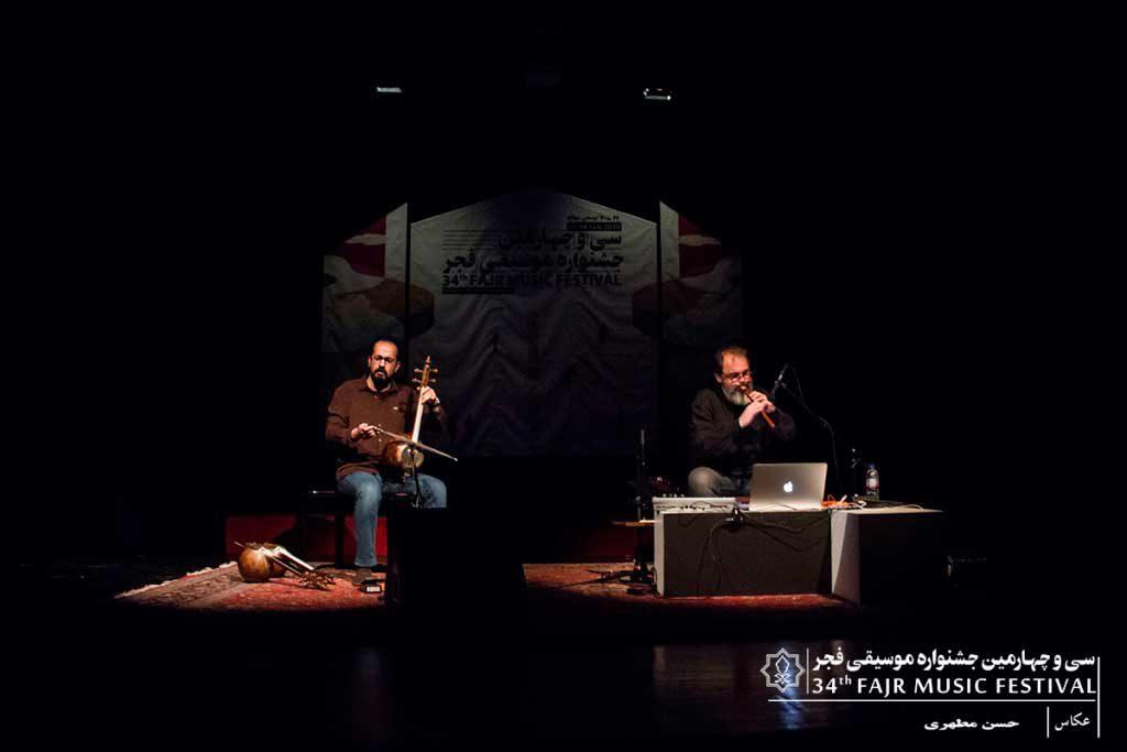 اجرای دو نوازی کمانچه و دودوک در فرهنگسرای نیاوران (روز چهارم سانس دوم)