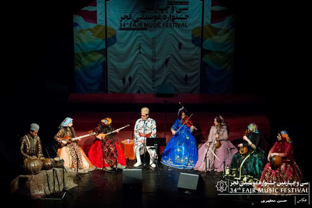 اجراهای فرهنگسرای نیاوران در روز ششم