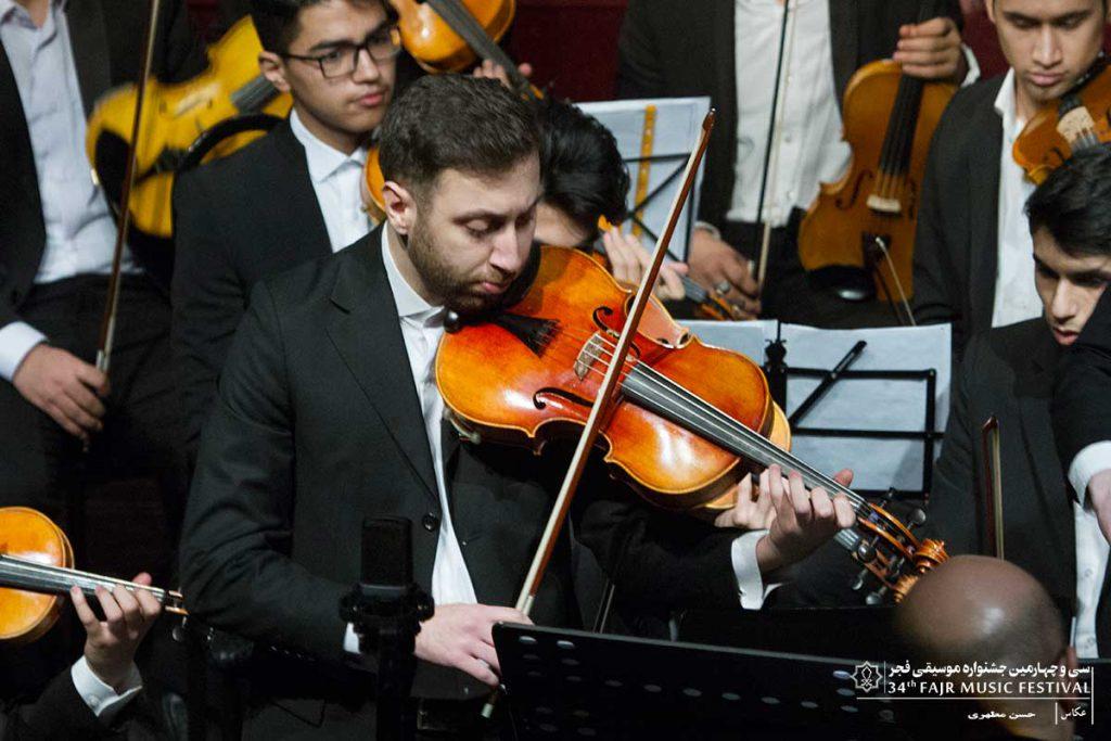 گزارش تصویری کنسرت هنرستان موسیقی پسران سنتی -کلاسیک