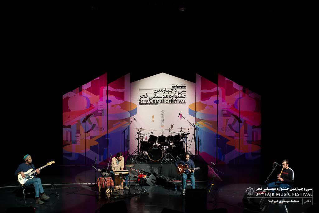 گزارش تصویری اجرای برنامه گروه کوارتت – محمد آزمند – وفا مصباحی