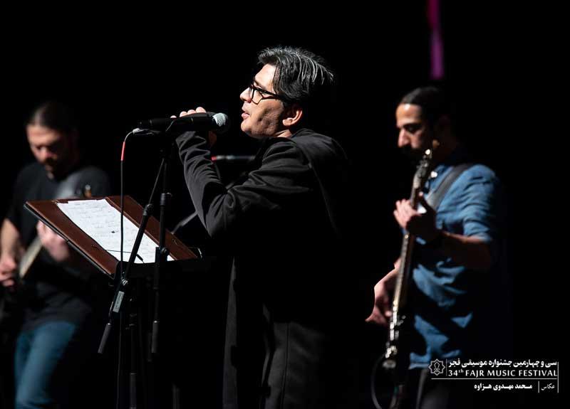 حضور مدیرکل دفتر موسیقی در اجرای گروه «کهت میان» در برج آزادی – شب جز محلی و ریفهای خشدار با کوارتت آزمند و همایون مجدزاده