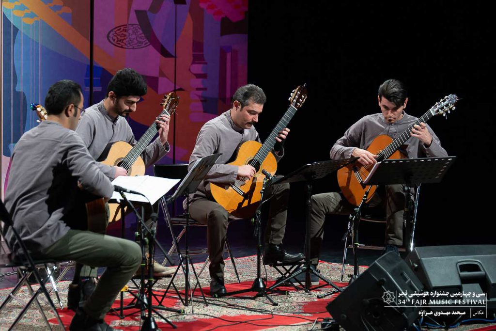 گزارش تصویری کنسرت کوارتت گیتار آمل – فرزاد زاهدی