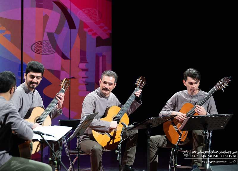 اجرای گروه «اوبد» و «کوارتت آمل» در جشنواره موسیقی فجر – چیدمان مطلوب موسیقی جز و کلاسیک در برج آزادی