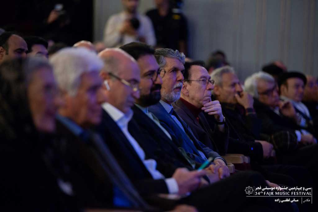 گزارش تصویری اختتامیه سی و چهارمین جشنواره موسیقی فجر ؛ بخش دوم