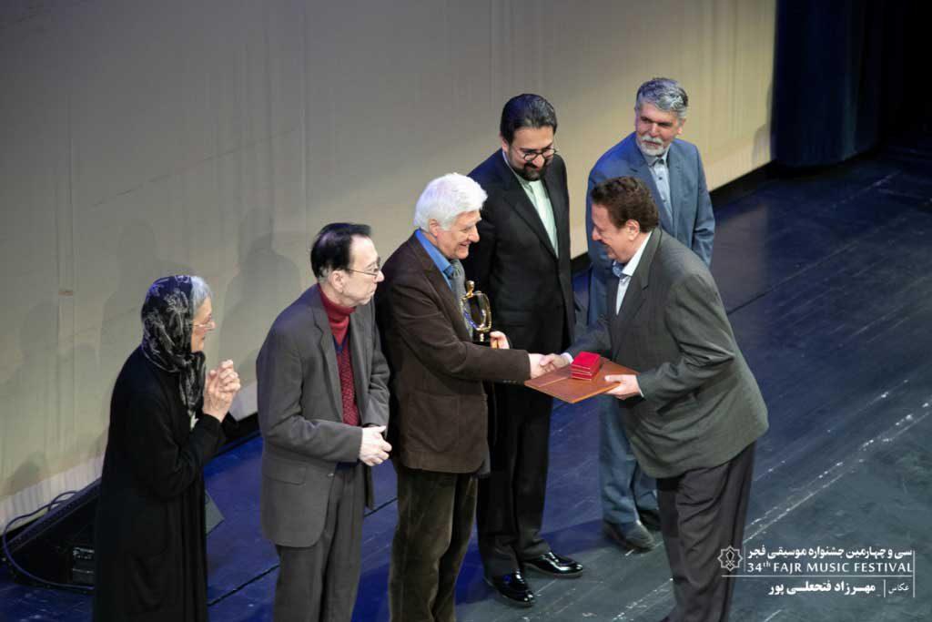گزارش تصویری اختتامیه سی و چهارمین جشنواره موسیقی فجر ؛ بخش اول