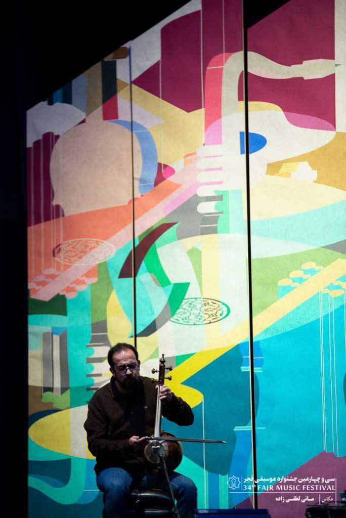 گزارش تصویری اختتامیه سی و چهارمین جشنواره موسیقی فجر ؛ بخش سوم
