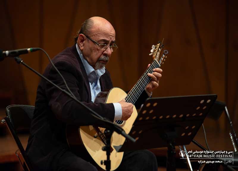 در دومین شب جشنواره موسیقی فجر اتفاق افتاد – سیمون آیوازیان با صحنه خداحافظی کرد