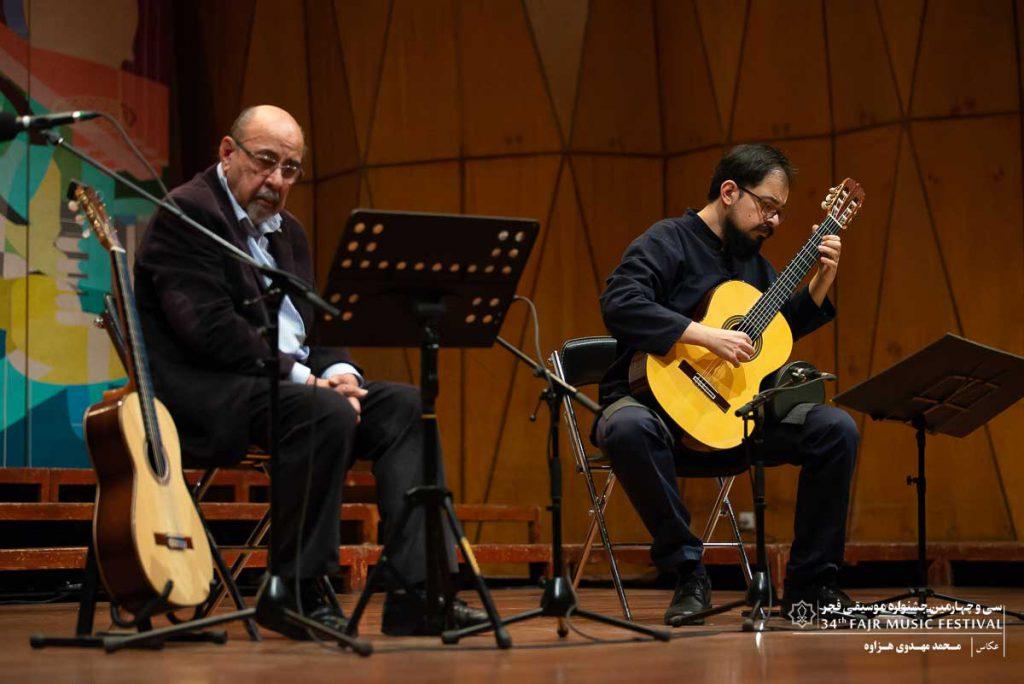 گزارش تصویری اجرای تکنوازی گیتار سیمون آیوازیان – بابک ولی پور