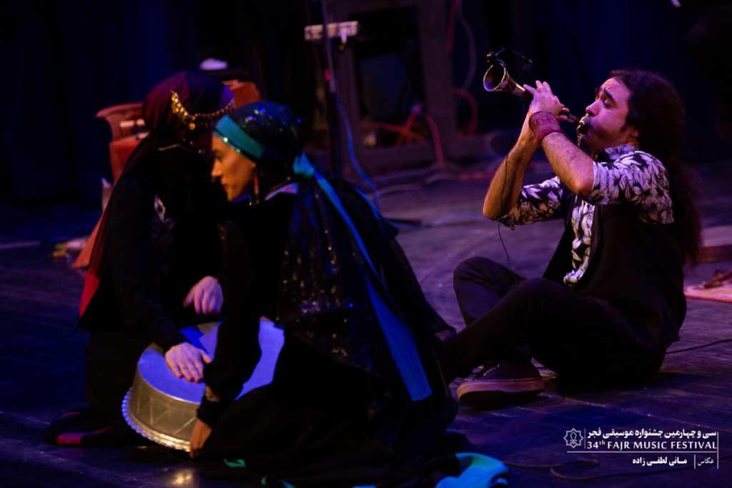 گزارش تصویری اجرای گروه رستاک – سیامک سپهری
