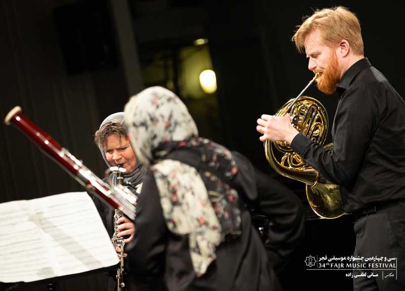 اجرای آهنگهای ایرانی توسط گروه دانمارکی