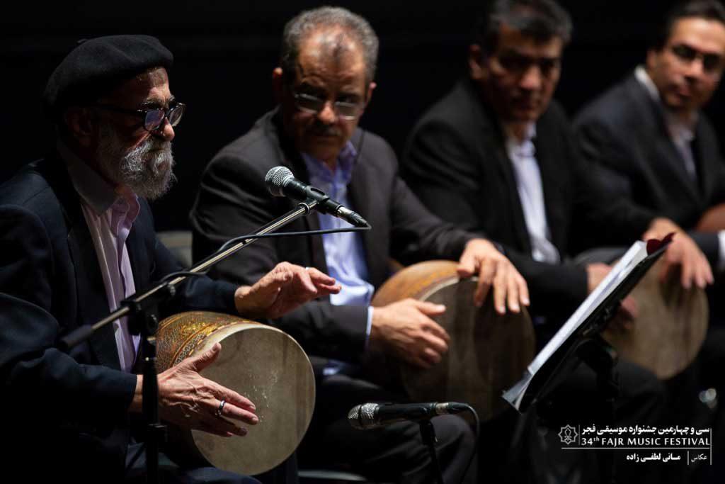 اجرای گروه پایور با حضور استاد محمد اسماعیلی  در تالار وحدت (روز چهارم سانس دوم)