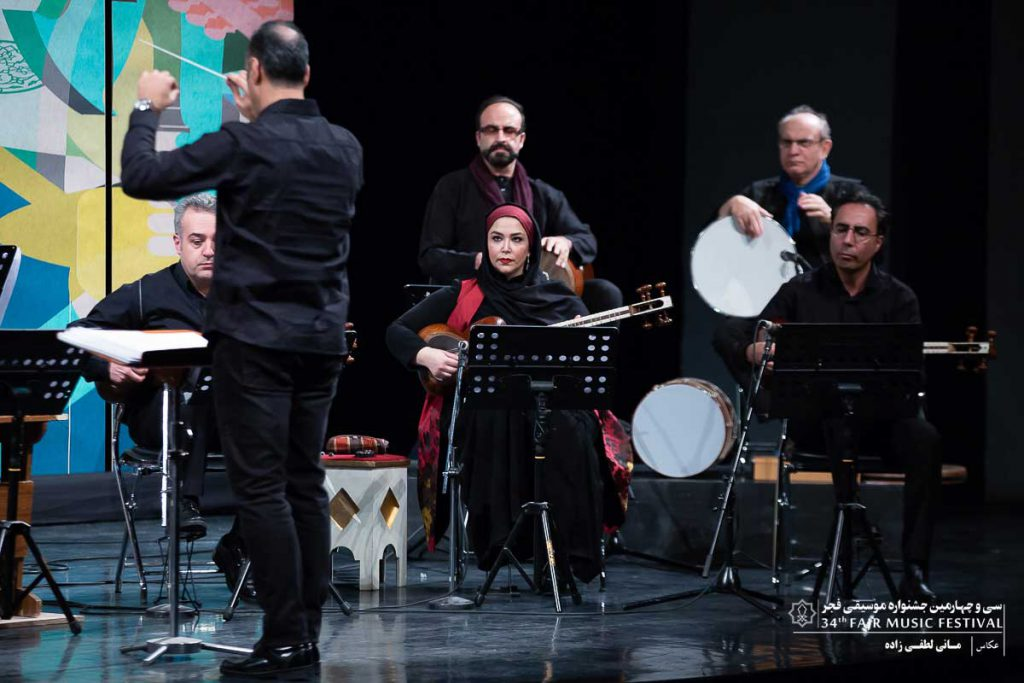 ارکستر سازهای ملی ایران – علی اکبر قربانی