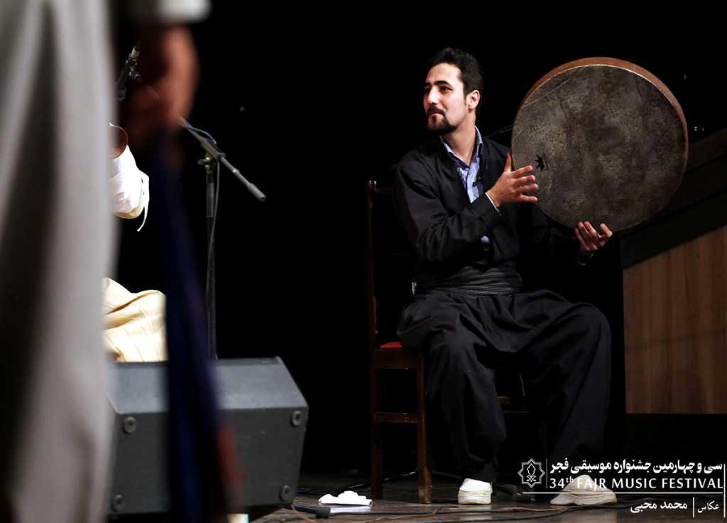 اجرای گروه ترنگ و ناسو در سالن سوره حوزه هنری (شب چهارم بخش دوم)