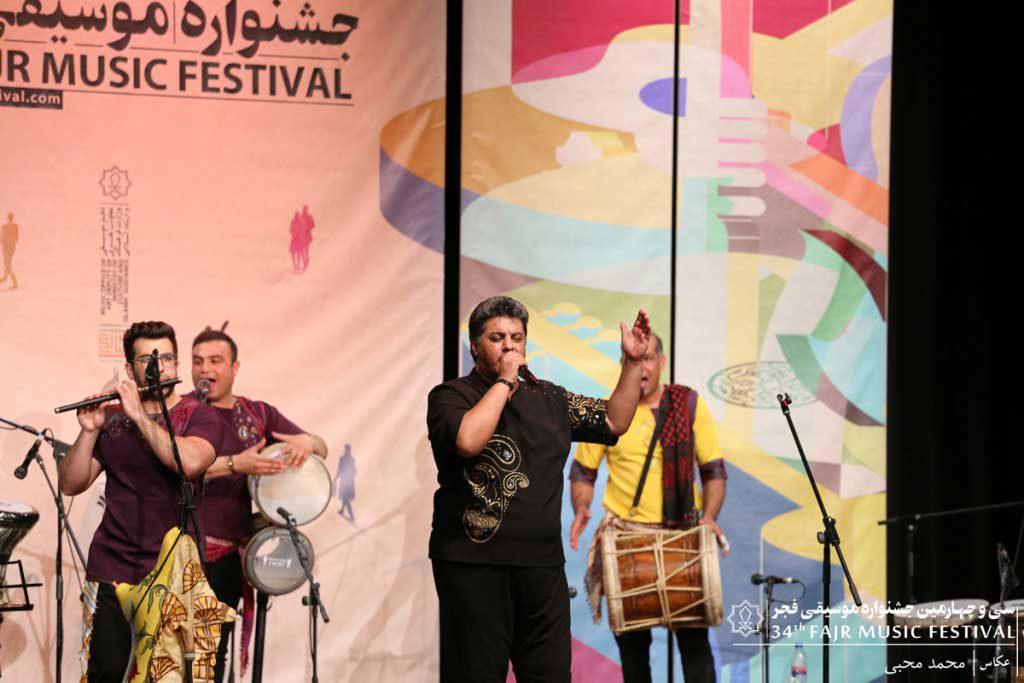 اجرای گروه شالو بوشهر – عبداله مقاتلی مطلق در سالن سوره حوزه هنری