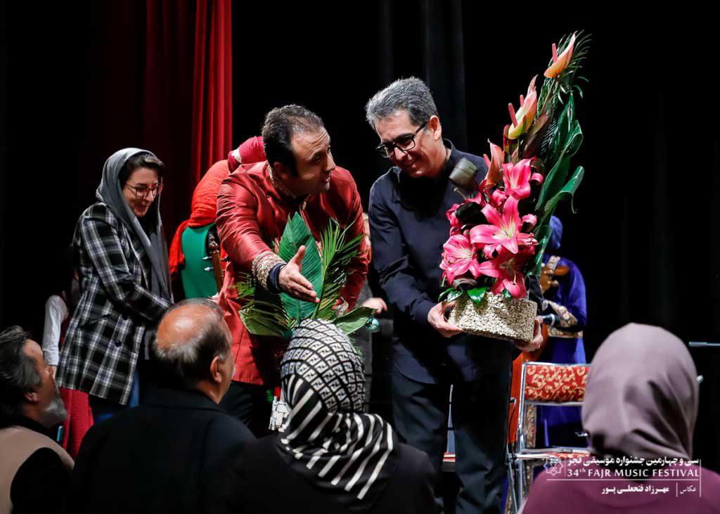 گزارش تصویری اجرای گروه خنیاگران مهر -ایوان شمس (روز چهارم)