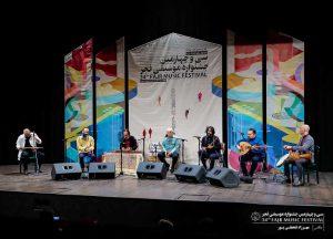 گزارشی از اجرای گروه موسیقی روشنا با آواز مظفر شفیعی – آوازِ بدرقه در ایوان شمس