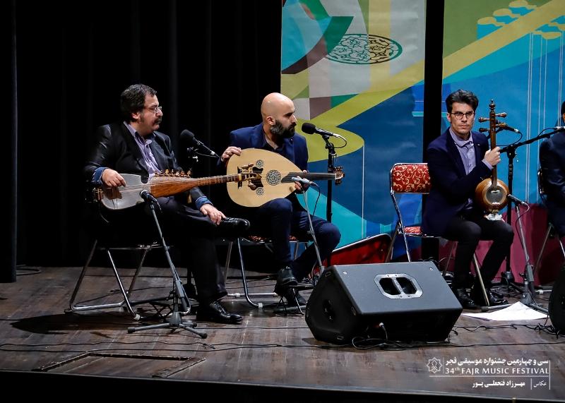 گزارش تصویری کنسرت همایون پرنیا – حسین پرنیا – فاضل جمشیدى در ایوان شمس