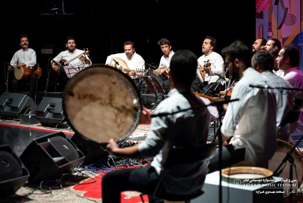 اجرای گروه سماع قزوین در برج آزادی (روز چهارم )