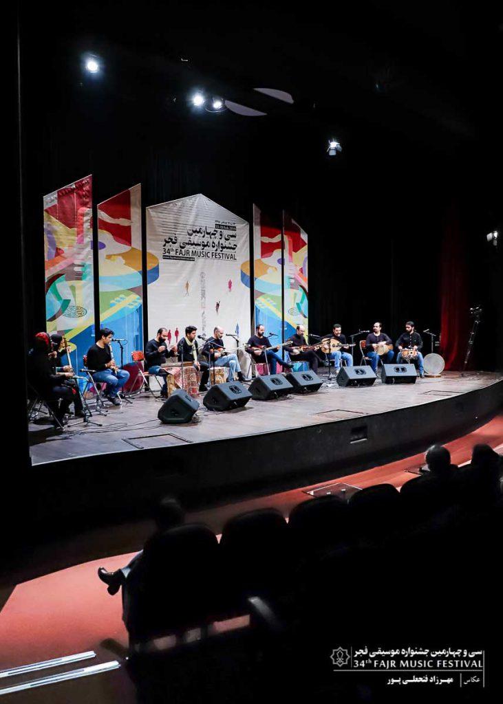 گزارش تصویری کنسرت سایه ارغوان -محمدامین اکبرپور – اشکان کمانگری – علیرضا حاجی طالب