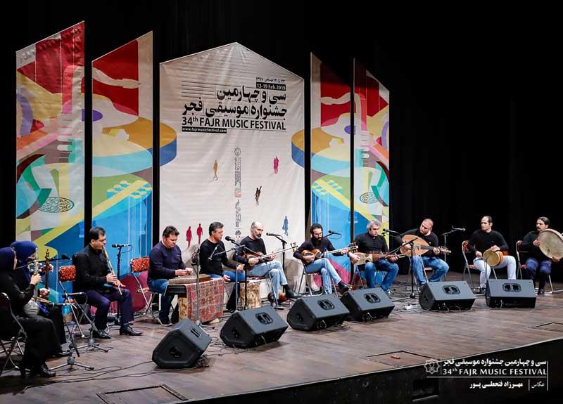 «سایه ارغوان» در ایوان شمس به روی صحنه رفت – شب دوست داران ردیف و سرودهای انقلابی
