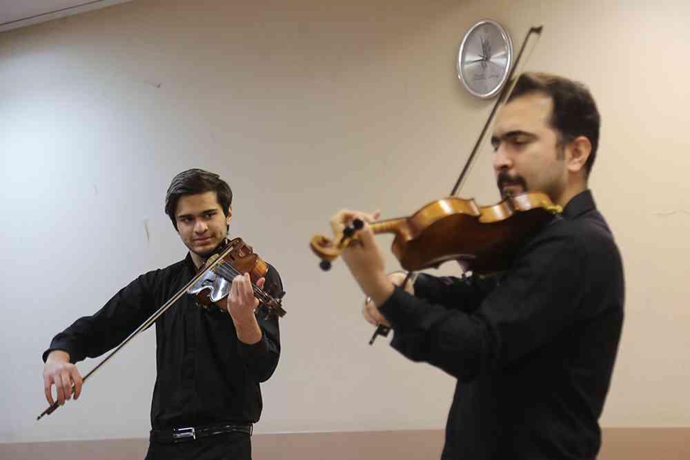 کوارتت خلیج فارس/35 جشنواره موسیقی فجر
