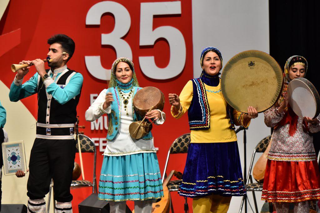 آوای تبری/35 جشنواره موسیقی فجر
