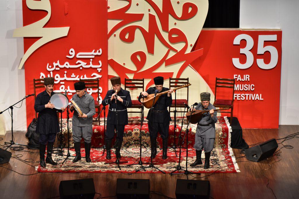 عاشیق های تبریز/35جشنواره موسیقی فجر