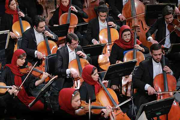 ارکستر سمفونیک تهران/35جشنواره موسیقی فجر