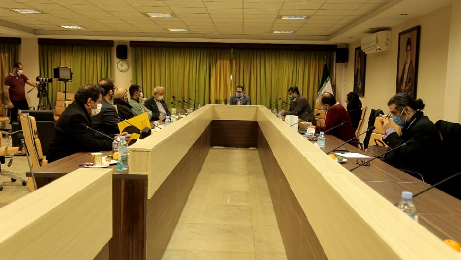 نشست هیات انتخاب جشنواره موسیقی فجر با معاون هنری و مدیرکل موسیقی