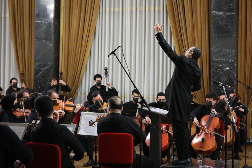 اجرای ارکستر موسیقی ملی ایران/سی و ششمین جشنواره موسیقی فجر
