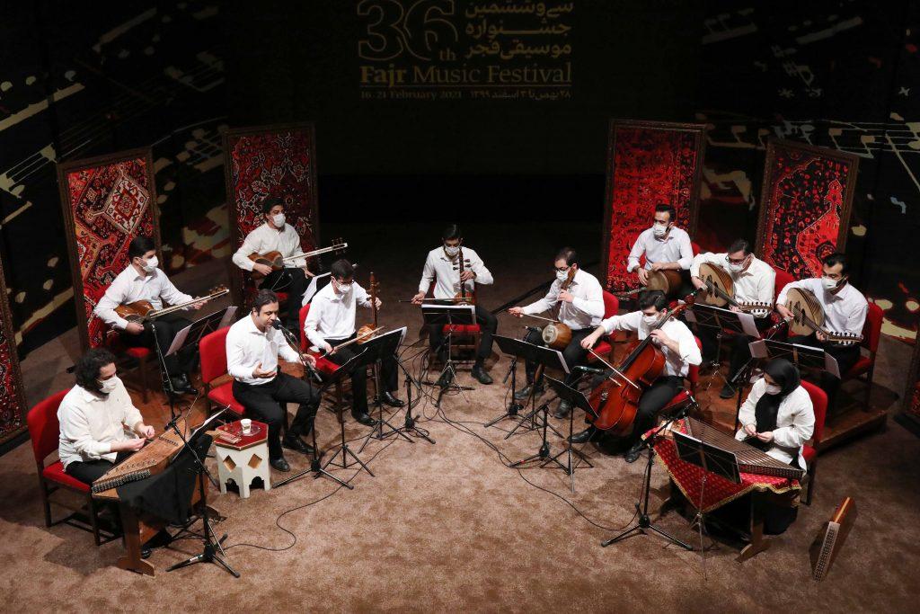 اجرای گروه ژاو/سی و ششمین جشنواره موسیقی فجر