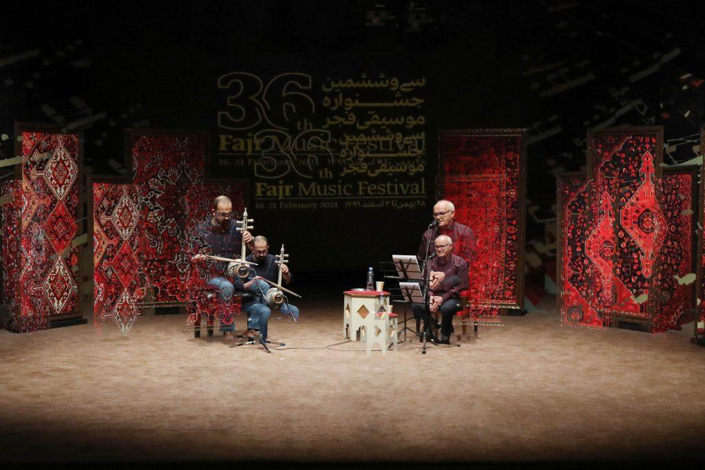 به یاد استاد(مظفر شفیعی،حسام اینانلو)/سی و ششمین جشنواره موسیقی فجر
