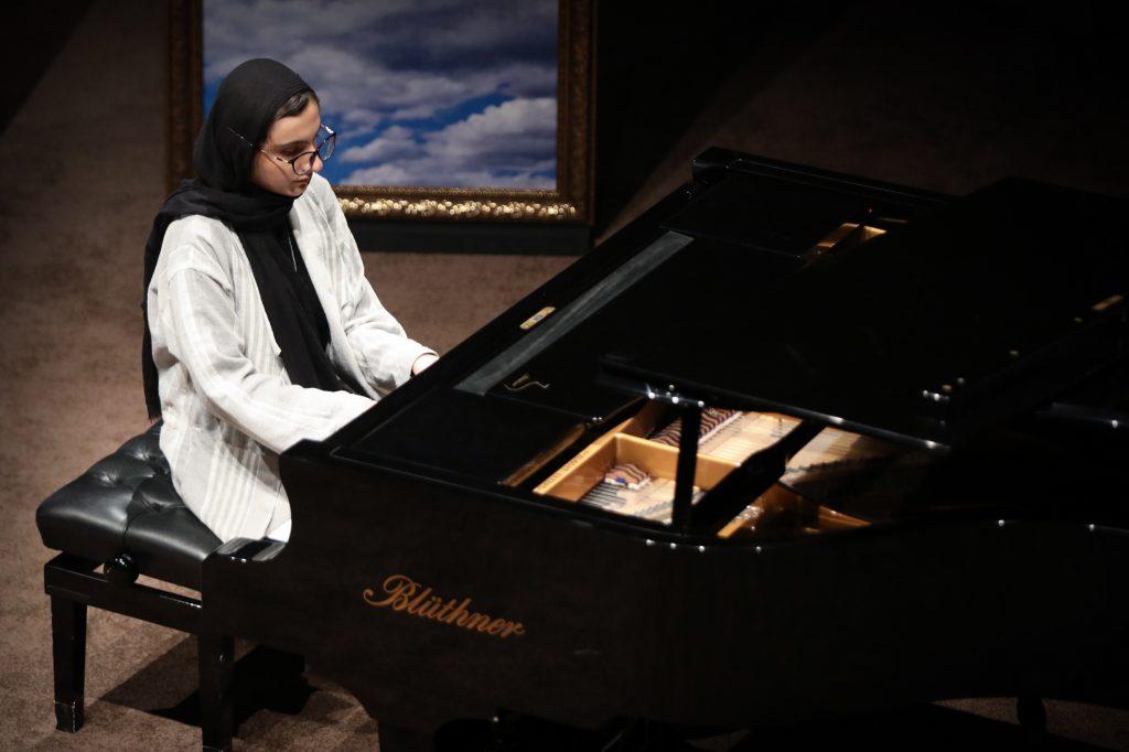 اجرای هنرستان موسیقی دختران/سی و ششمین جشنواره موسیقی فجر