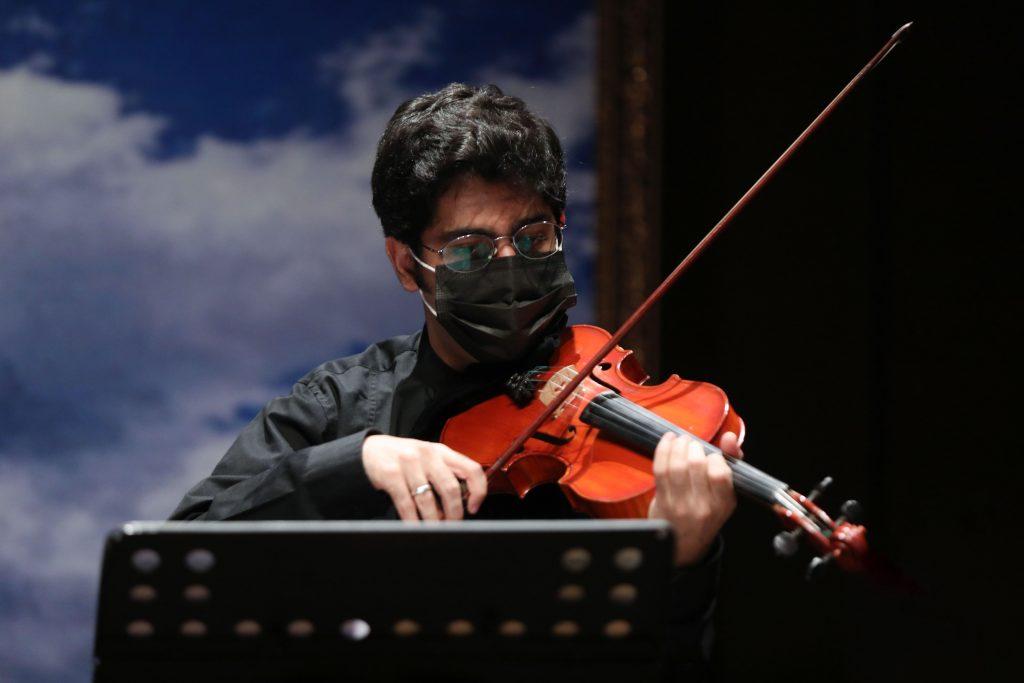 اجرای کوارتت زهی نماد/سی و ششمین جشنواره موسیقی فجر