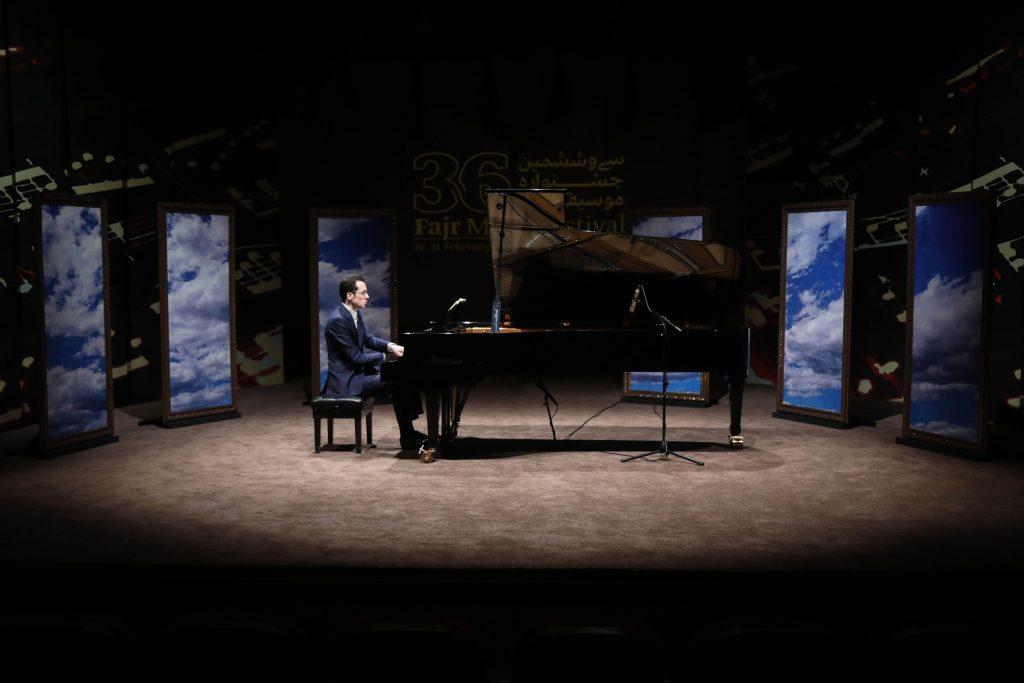اجرای رسیتال پیانو(آلمان)/سی و ششمین جشنواره موسیقی فجر