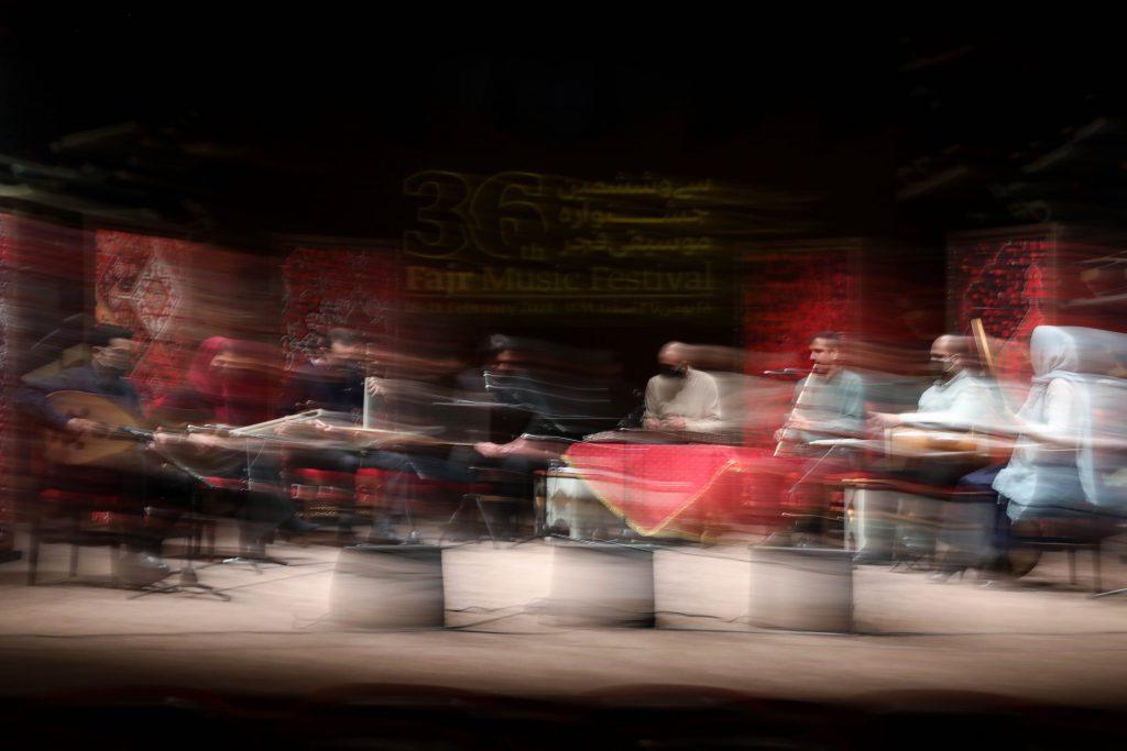 اجرای اقبال آذر/سی و ششمین جشنواره موسیقی فجر