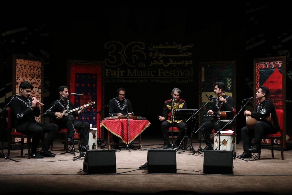 اجرای نوای سیمره/سی و ششمین جشنواره موسیقی فجر