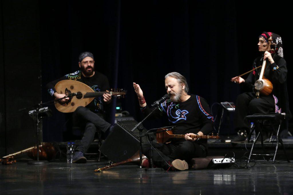 اجرای گروه رستاک/سی و ششمین جشنواره موسیقی فجر