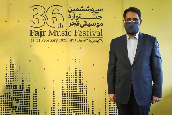 معاون امور هنری وزارت فرهنگ و ارشاد اسلامی به سی و ششمین جشنواره موسیقی فجر پیام داد.